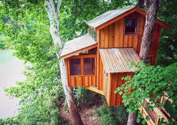 Luxury Treehouse Ideas