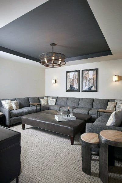 Top 50 Best Tray Ceiling Ideas - Overhead Interior Designs