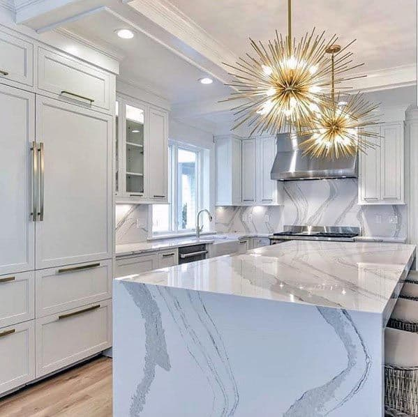 Luxury White Kitchen Ideas