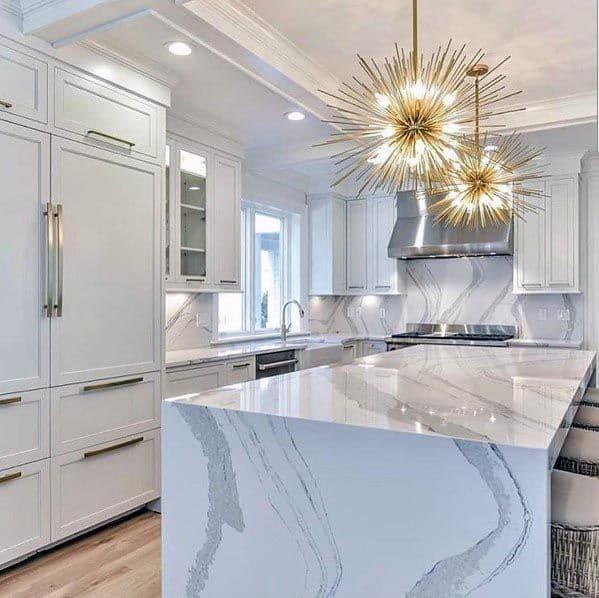 Luxury White Kitchen Ideas
