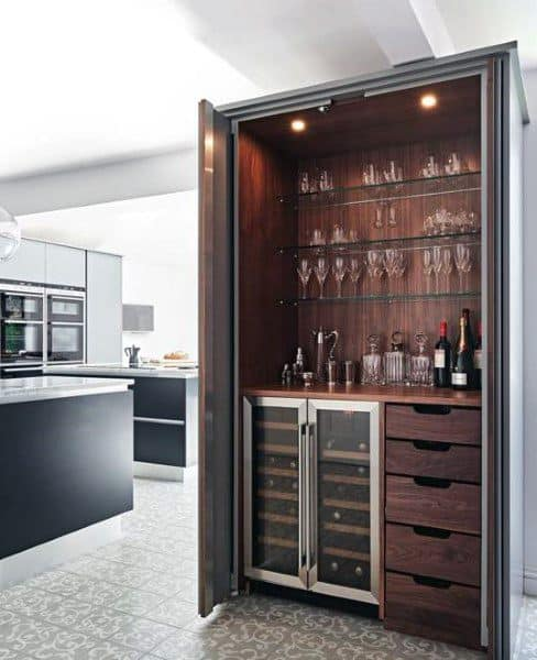 Luxury Wood Mini Bar Ideas