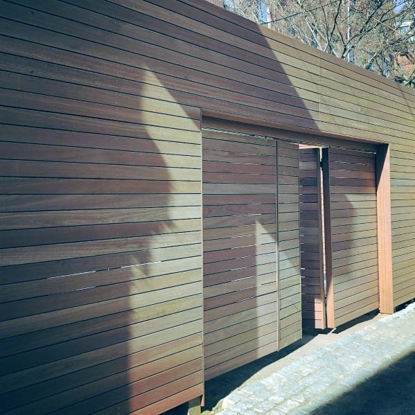 Luxury Wood Privacy Fence Ideas With Modern Hidden Door Gate