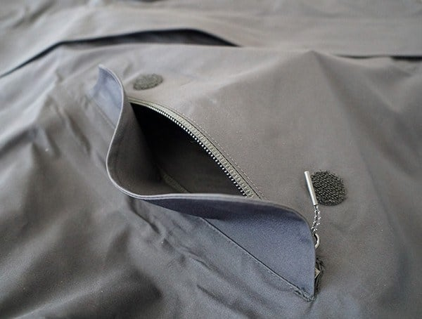 M 51 3 Layer Fishtail Jacket Upper Chest Pocket Open