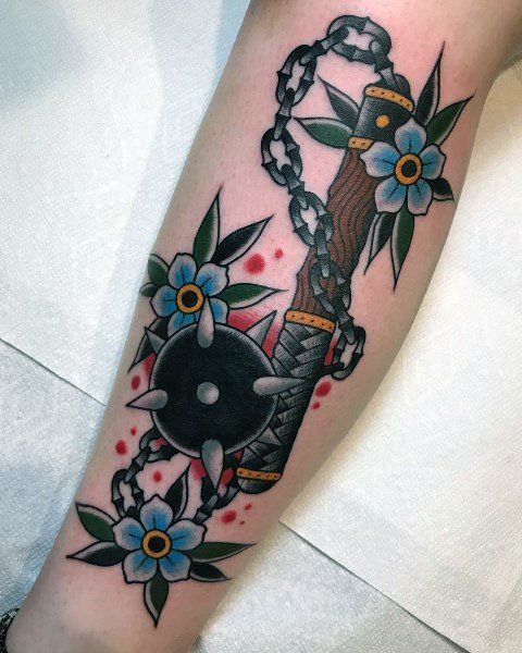 Mace Guys Tattoo Designs