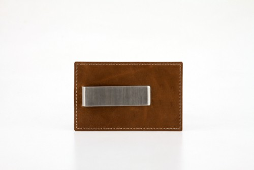 Machine Era Black Slim Minimalist Wallet For Men