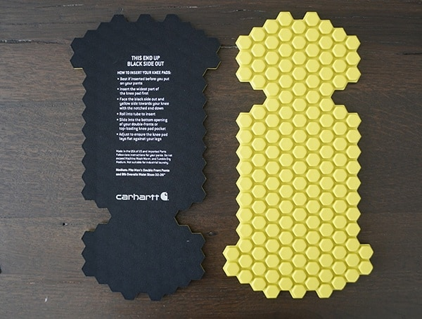 Machine Washable And Dryer Friendly Carhartt Knee Pads