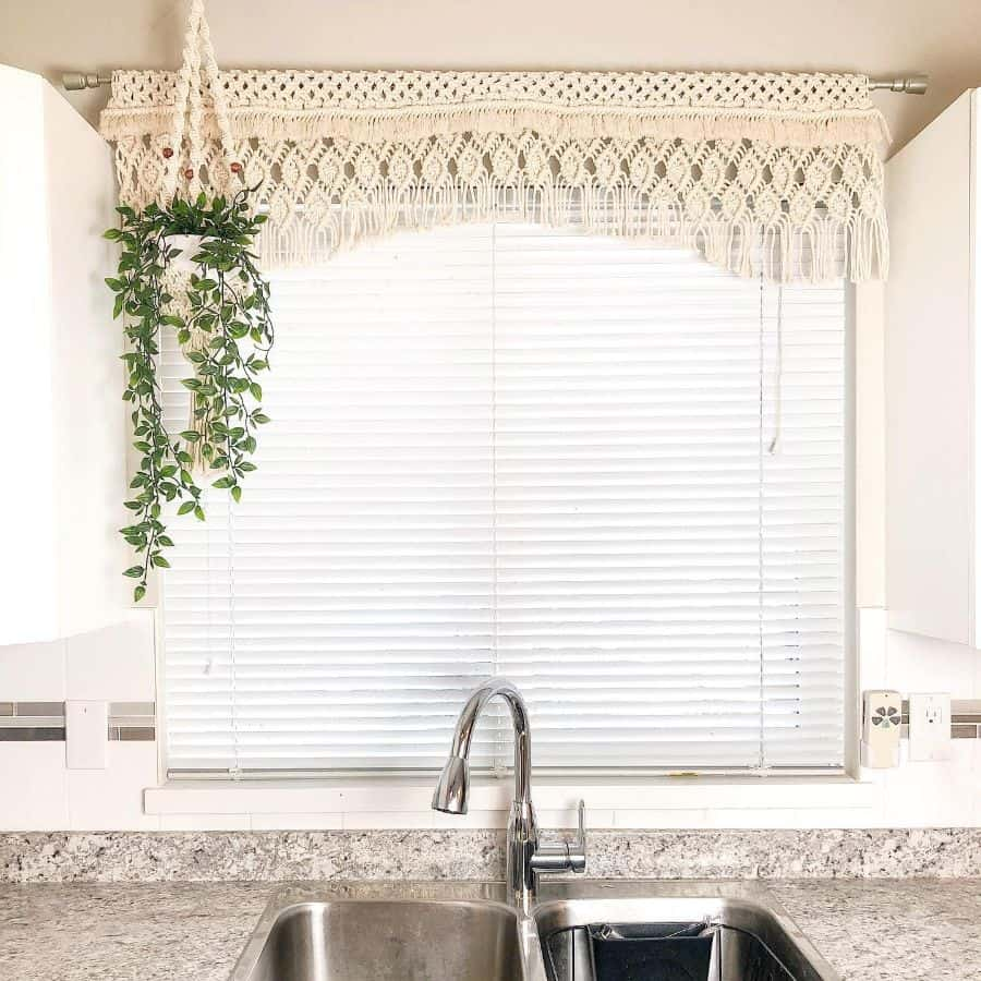 macrame kitchen curtain ideas __simply_inspired__