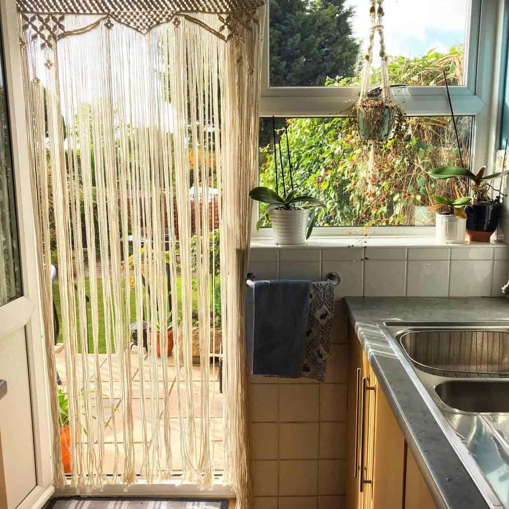 macrame kitchen curtain ideas sophie.macramazing