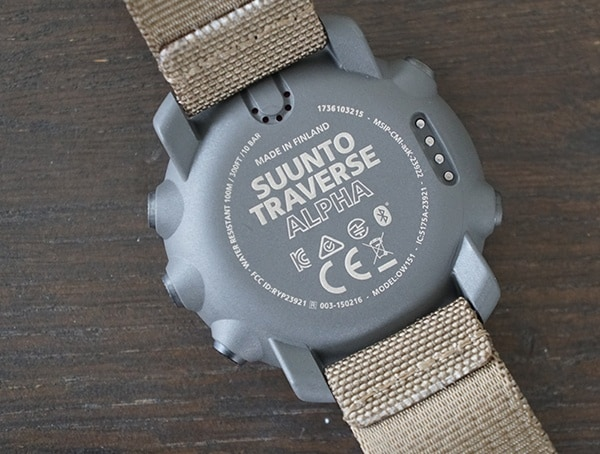 Made In Finland Watch Case Back Suunto Traverse Alpha For Men