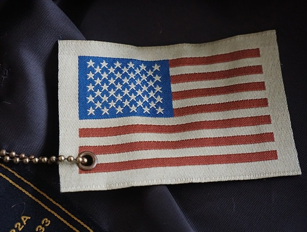 Made In The Usa Flag Tag Cockpit Usa G 1 Flight Jacket For Men