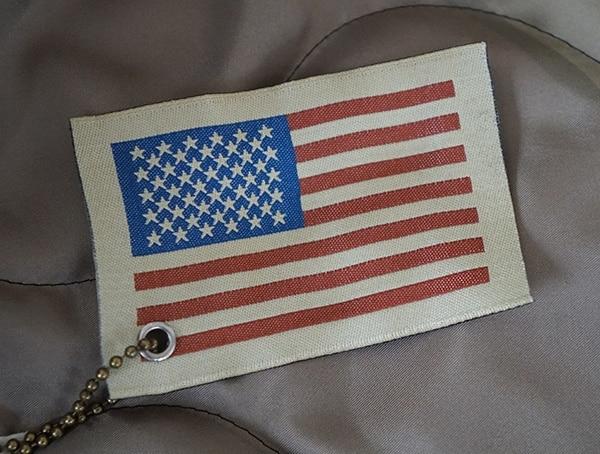 Made In Usa American Flag Tag Mens Mountain Ranger Parka