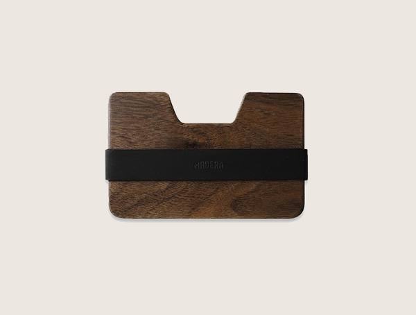 Madera Poquito Walnut Wood Wallet For Men