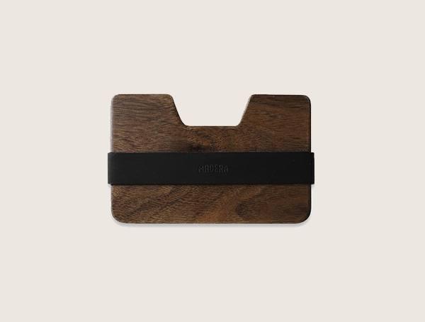 Madera Poquito Walnut Wood Wallet For Men