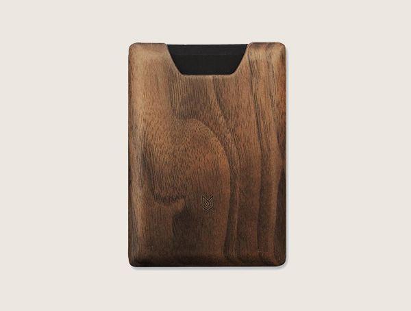 Madera Union Walnut Wood Wallet For Men