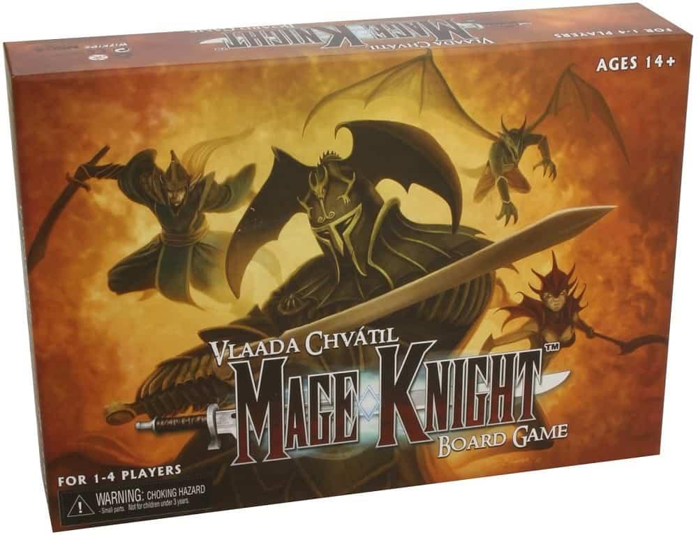 neca mage knight board game