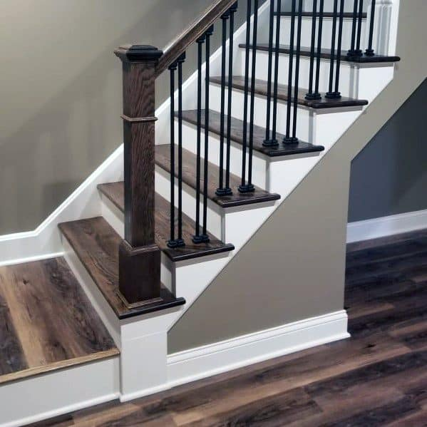 Stair Steps Ideas: Top 70 Best Basement Stairs Ideas