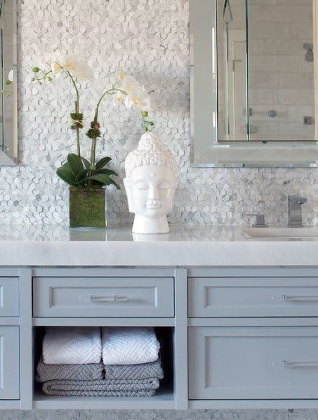 Magnificent Bathroom Backsplash Design Ideas
