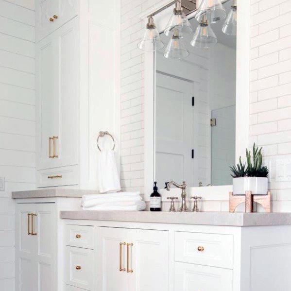 Magnificent Bathroom Lighting Design Ideas Above Vanity