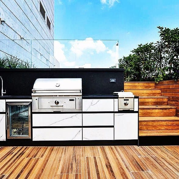 Magnificent Built In Grill Design Ideas