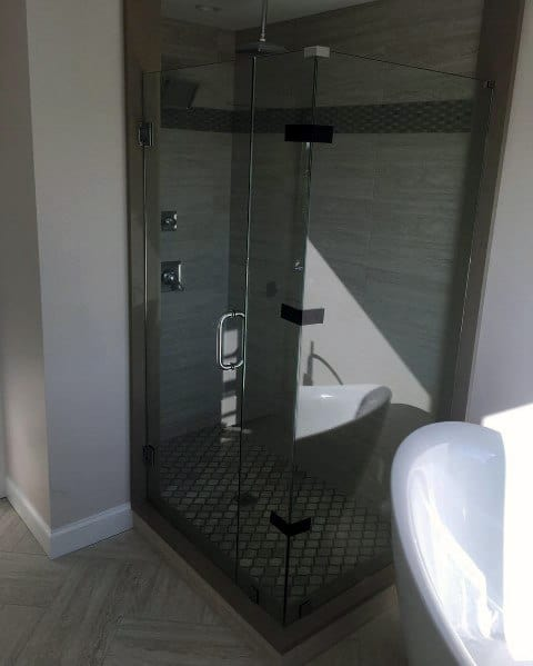 Magnificent Corner Shower Design Ideas