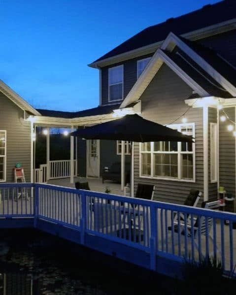 Magnificent Deck Lighting Design Ideas