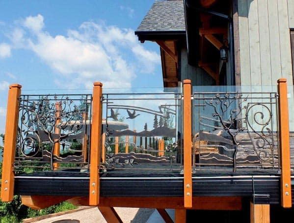 Magnificent Deck Railing Design Ideas