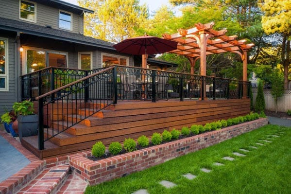 Magnificent Deck Skirting Design Ideas