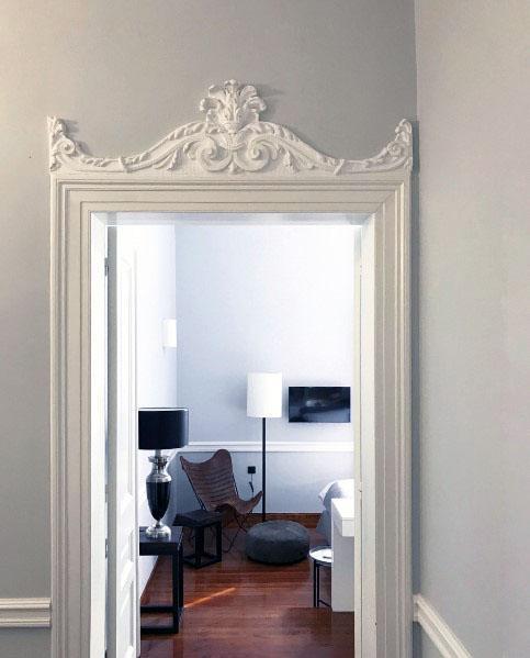 Magnificent Door Trim Design Ideas