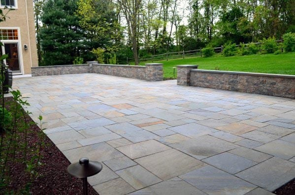 Magnificent Flagstone Patio Design Ideas - Top 60 Best Flagstone Patio Ideas - Hardscape Designs
