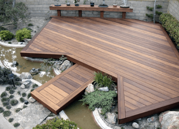 Magnificent Floating Deck Design Ideas