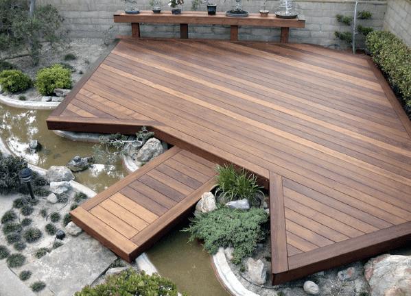 Top 60 Best Floating Deck Ideas - Contemporary Backyard Designs