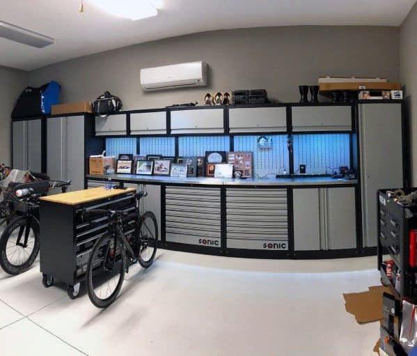 Magnificent Garage Cabinet Design Ideas