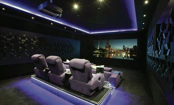 Magnificent Home Theater Lighting Design Ideas