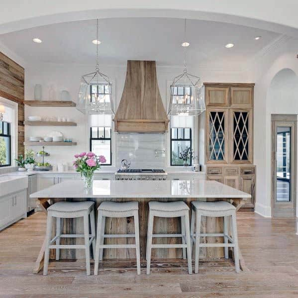 Magnificent Kitchen Hood Design Ideas Wooden