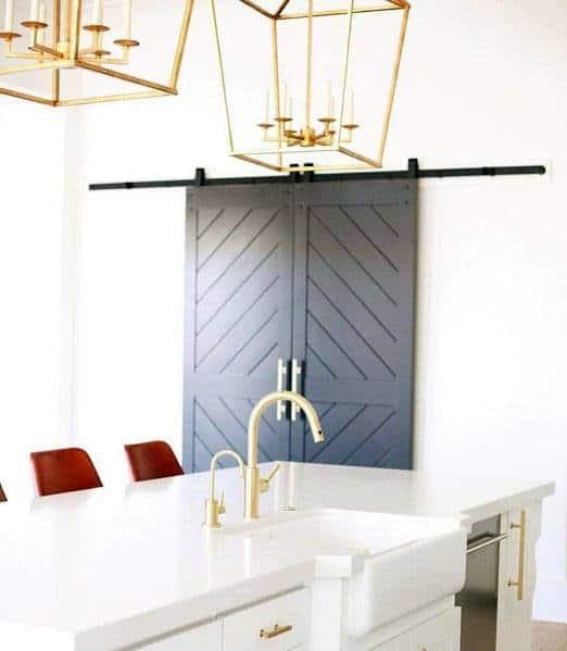 Magnificent Kitchen Pantry Door Design Ideas