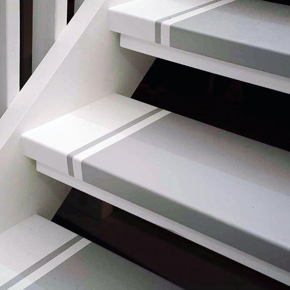 Magnificent Painted Stairs Design Ideas