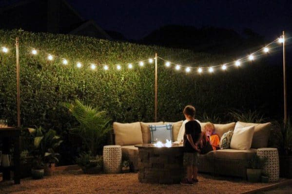 Magnificent Patio String Light Design Ideas