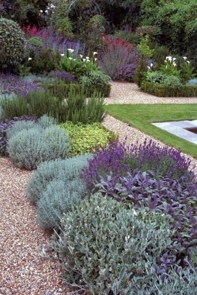 Magnificent Pool Border Landscaping Design Ideas