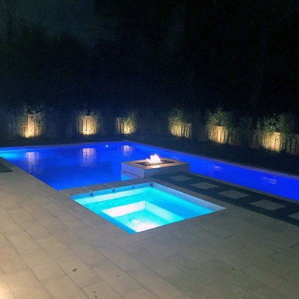 Magnificent Pool Lighting Design Ideas