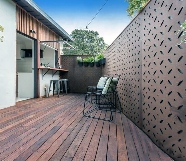 Magnificent Privacy Fence Design Ideas Metal Patterns