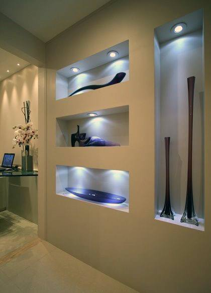 Magnificent Recessed Wall Niche Design Ideas