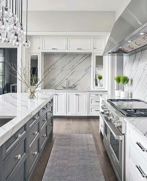 Magnificent Stone Backsplash Design Ideas For Kitchen
