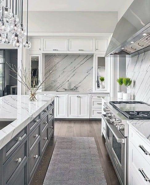 Ý tưởng thiết kế đá ốp lưng tuyệt đẹp cho nhà bếp