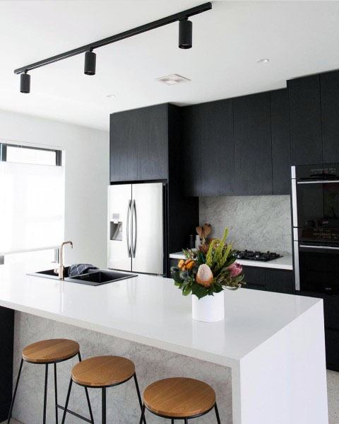 Magnificent Track Lighting Design Ideas For Kitchen