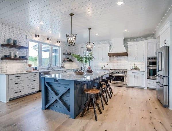 Magnificent Traditional Kitchen Flooring Design Ideas
