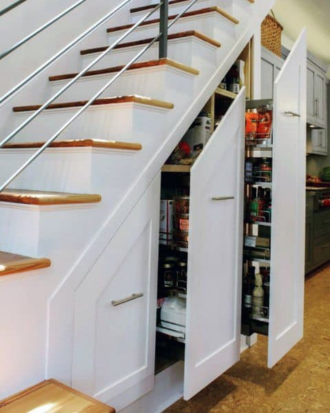 Magnificent Under Stairs Design Ideas