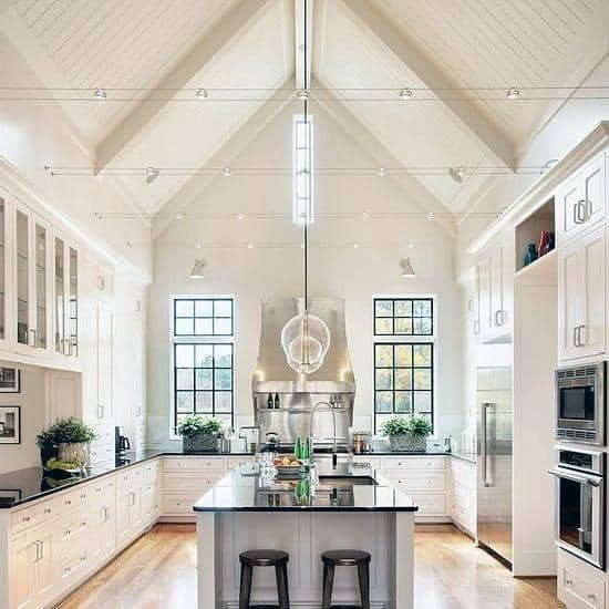 Magnificent Vaulted Ceiling Design Ideas Kitchen