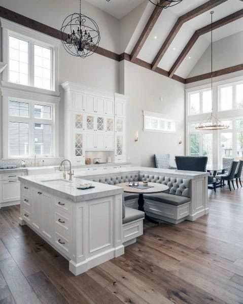 Magnificent White Kitchen Design Ideas