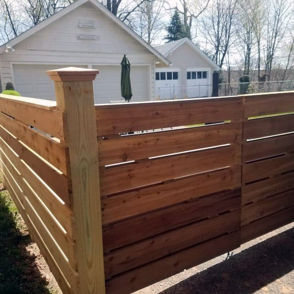 top   wooden fence ideas exterior backyard designs