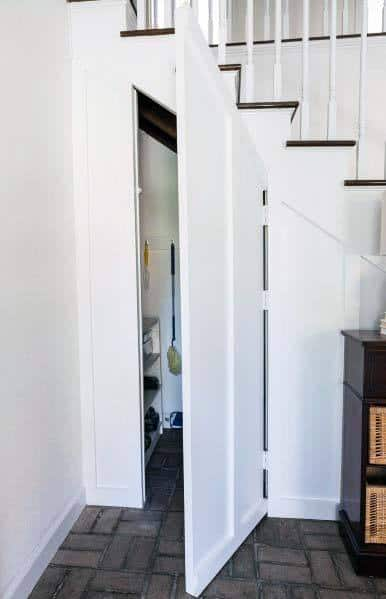 Magnificentunder Stairs Storage Closet Hidden Door Design Ideas